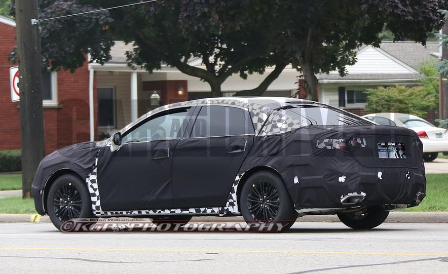 2016 Ford Fusion (spy photo) - Slide 5