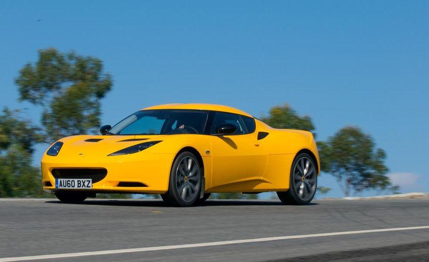 2009 Lotus Evora model shown - Slide 7