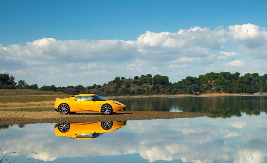 2009 Lotus Evora model shown - Slide 10