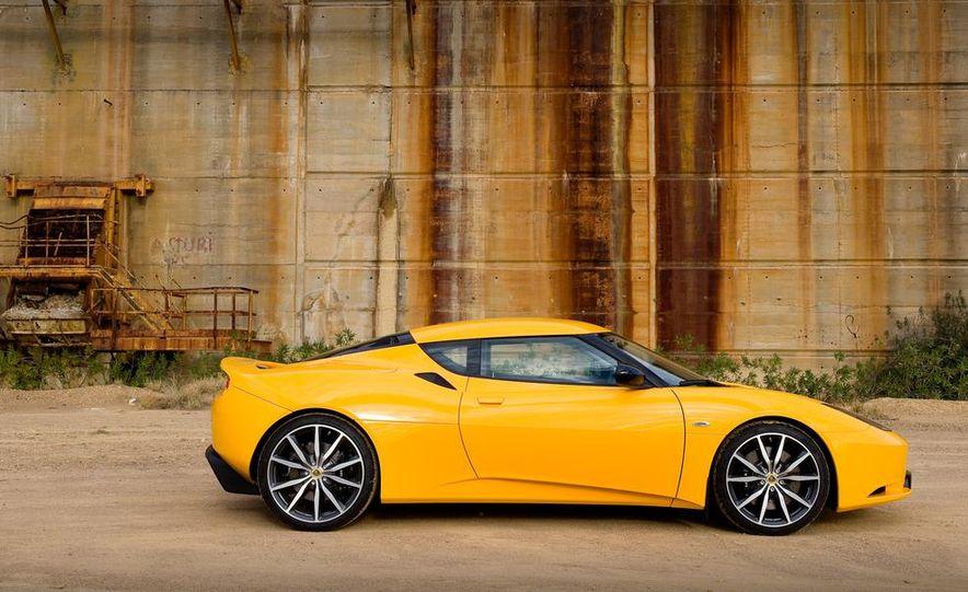 2009 Lotus Evora model shown - Slide 11