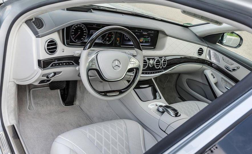 2015 Mercedes-Benz S550 plug-in hybrid - Slide 28