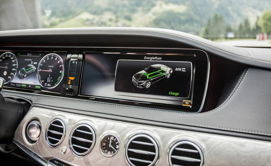 2015 Mercedes-Benz S550 plug-in hybrid - Slide 29