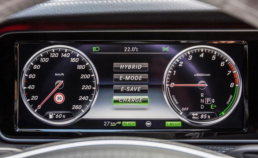 2015 Mercedes-Benz S550 plug-in hybrid - Slide 33