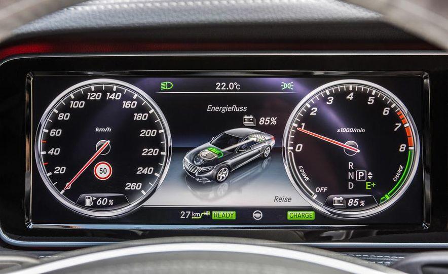 2015 Mercedes-Benz S550 plug-in hybrid - Slide 34