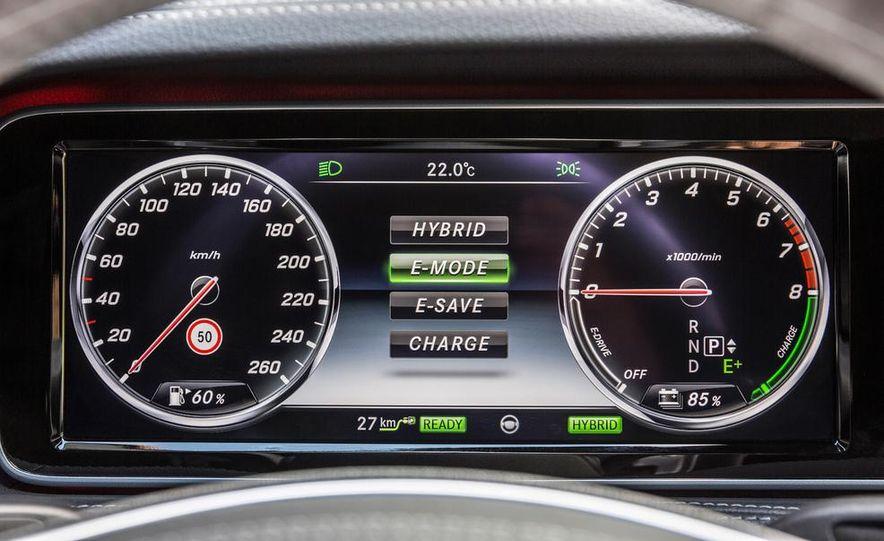 2015 Mercedes-Benz S550 plug-in hybrid - Slide 35