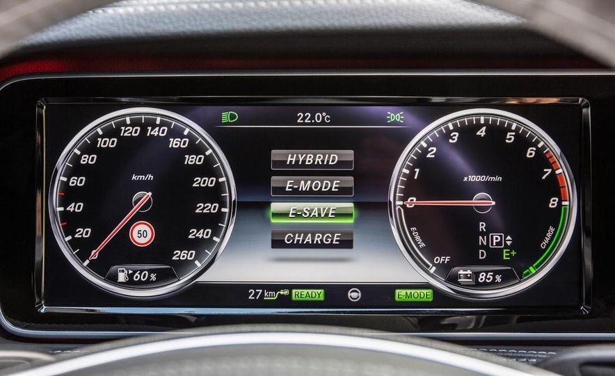 2015 Mercedes-Benz S550 plug-in hybrid - Slide 36