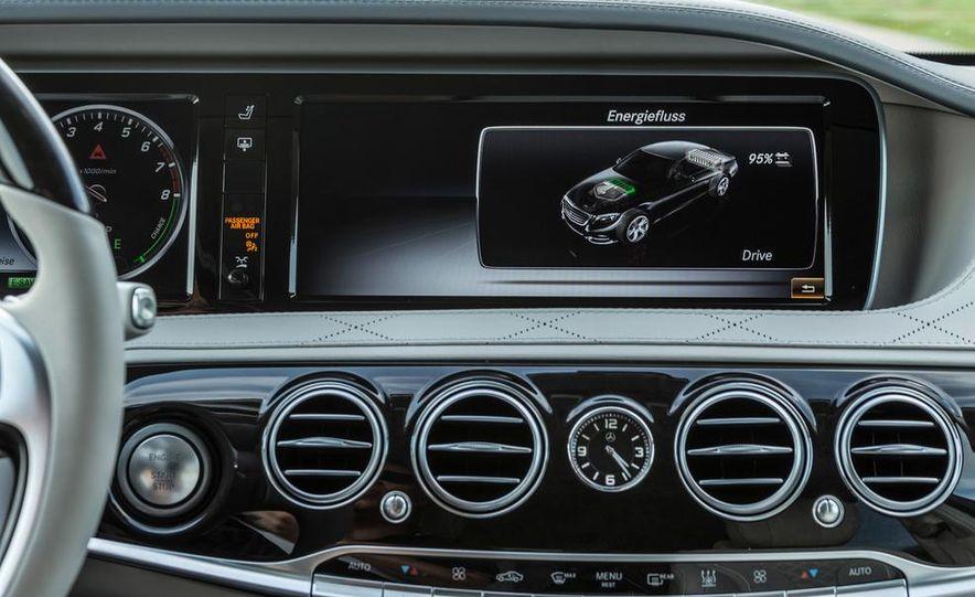 2015 Mercedes-Benz S550 plug-in hybrid - Slide 37