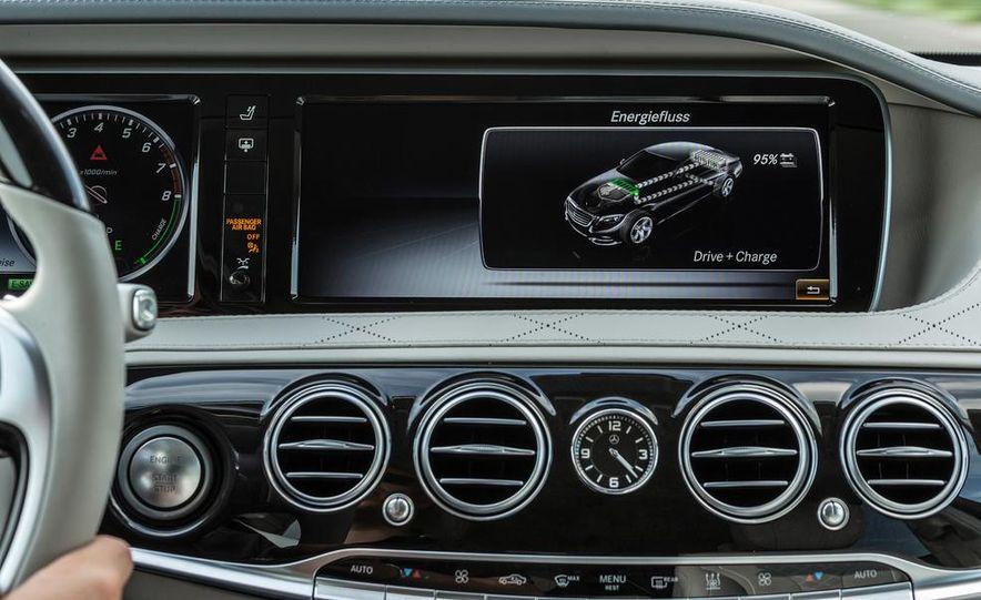 2015 Mercedes-Benz S550 plug-in hybrid - Slide 38