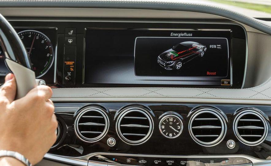 2015 Mercedes-Benz S550 plug-in hybrid - Slide 40