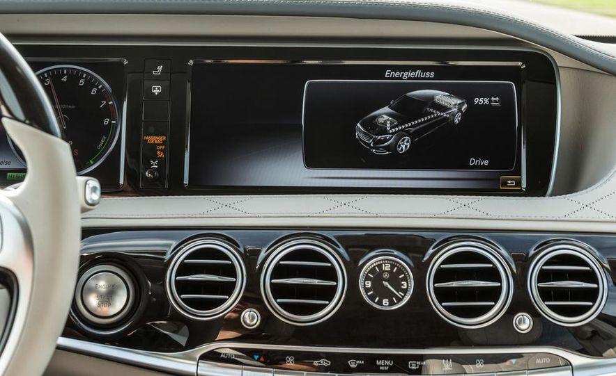 2015 Mercedes-Benz S550 plug-in hybrid - Slide 41