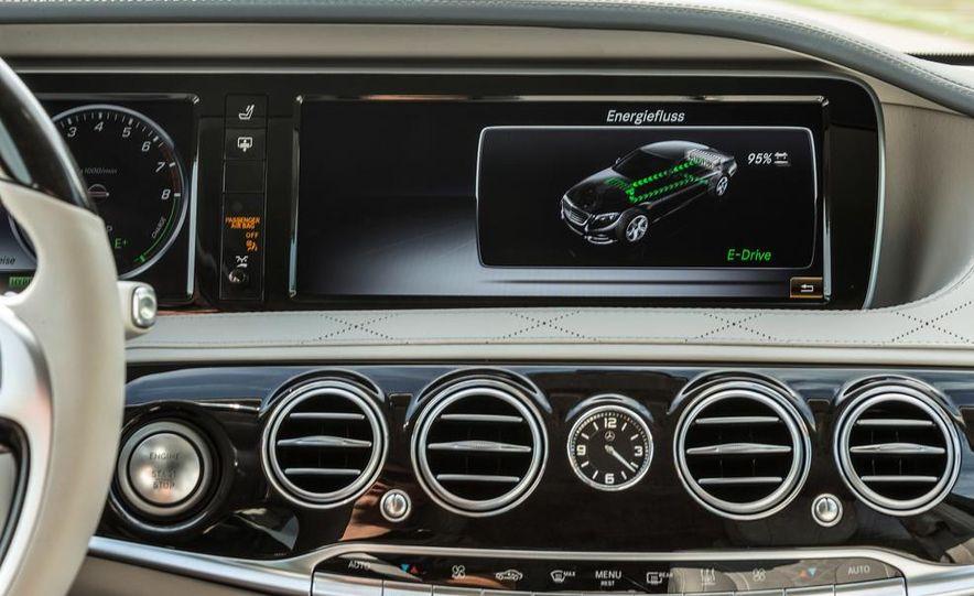 2015 Mercedes-Benz S550 plug-in hybrid - Slide 42