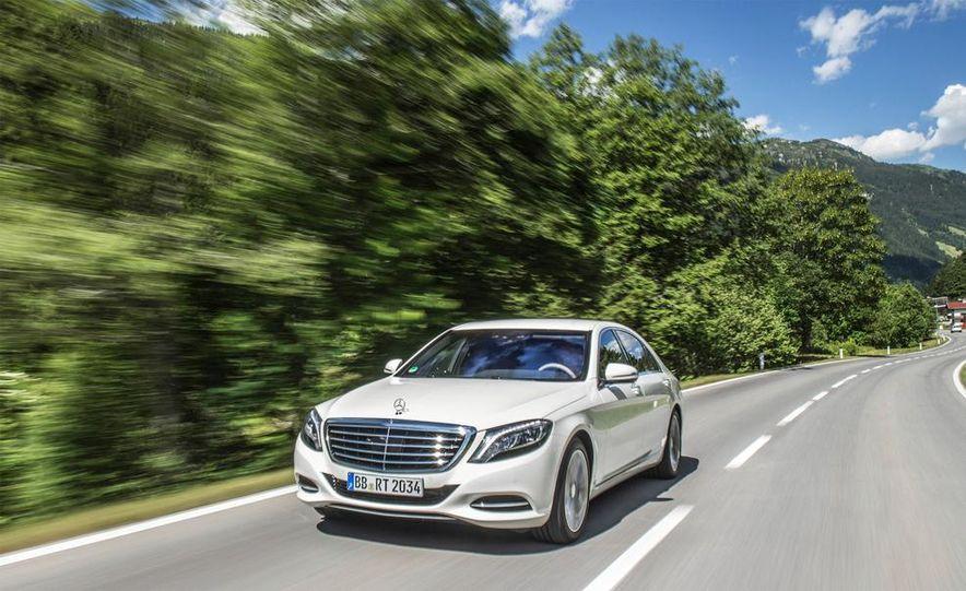 2015 Mercedes-Benz S550 plug-in hybrid - Slide 1