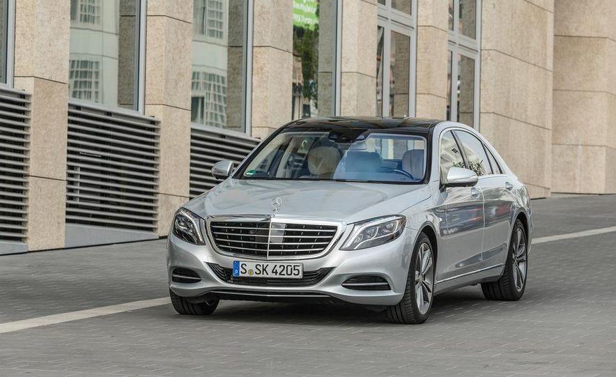 2015 Mercedes-Benz S550 plug-in hybrid - Slide 20