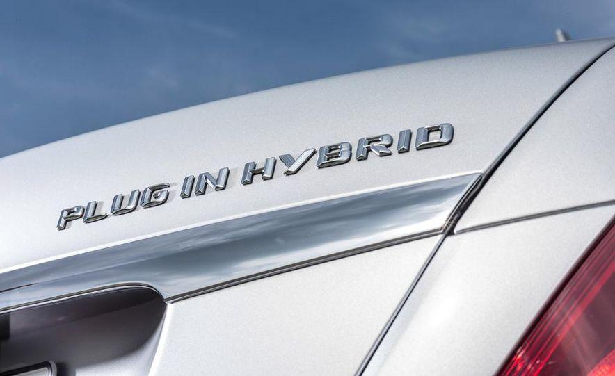 2015 Mercedes-Benz S550 plug-in hybrid - Slide 27