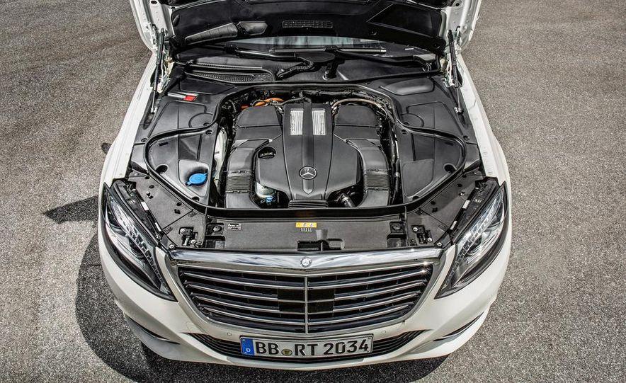 2015 Mercedes-Benz S550 plug-in hybrid - Slide 46