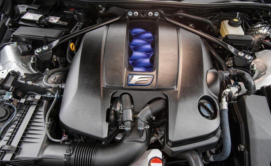 2015 Lexus RC F - Slide 71