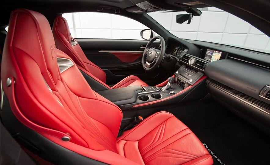 2015 Lexus RC F - Slide 45