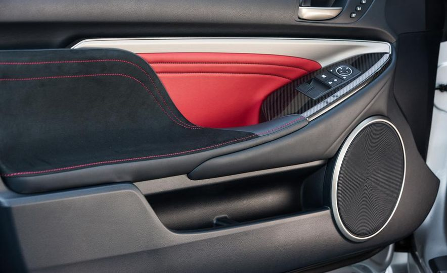 2015 Lexus RC F - Slide 48