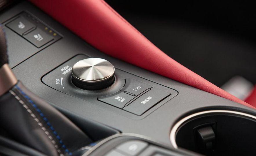 2015 Lexus RC F - Slide 54