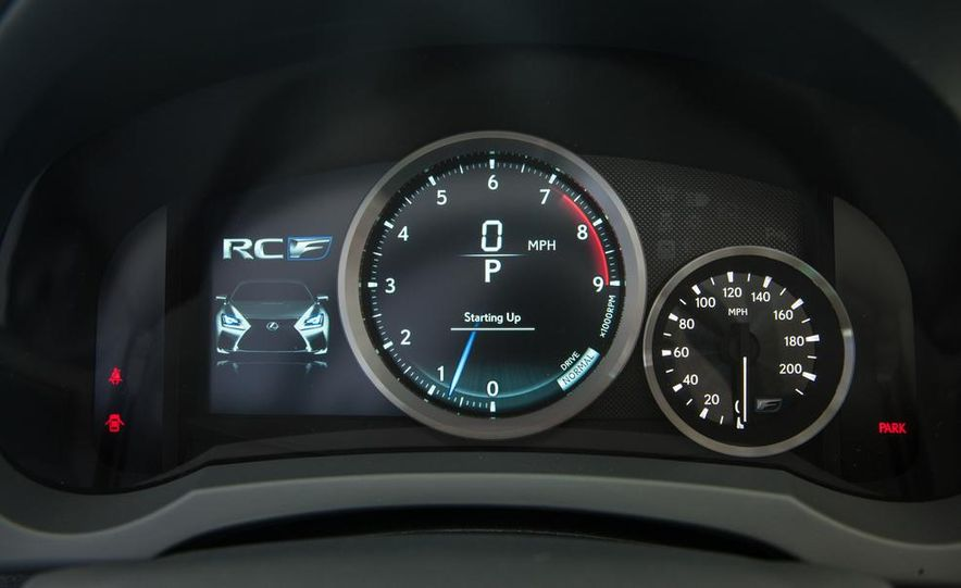 2015 Lexus RC F - Slide 56