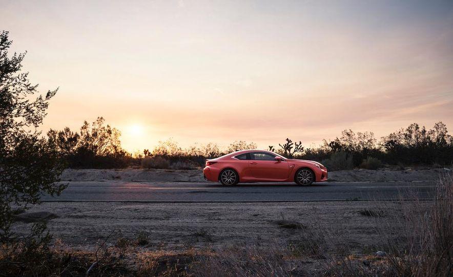 2015 Lexus RC F - Slide 26