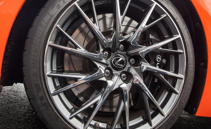 2015 Lexus RC F - Slide 35
