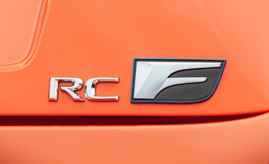 2015 Lexus RC F - Slide 38