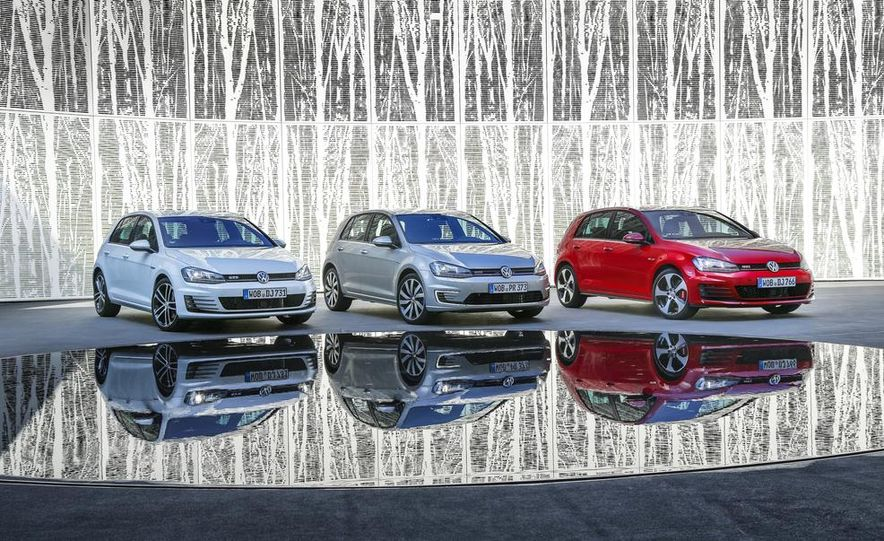 2015 Volkswagen Golf GTD, Golf GTE, and GTI - Slide 1