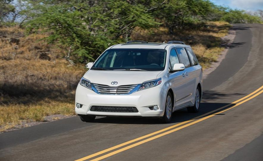 2015 Toyota Sienna Limited - Slide 1