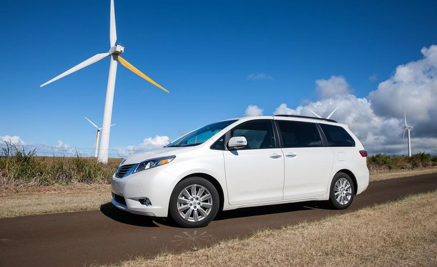 2015 Toyota Sienna Limited - Slide 25