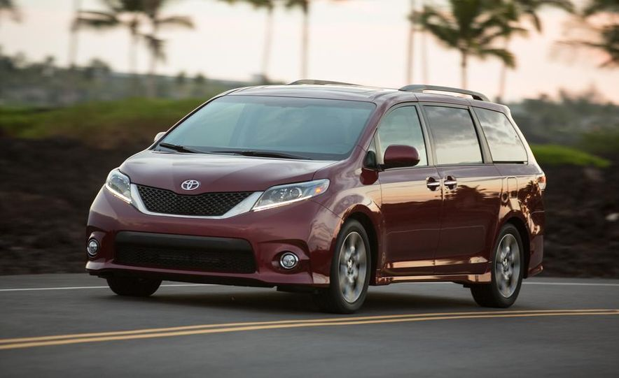 2015 Toyota Sienna Limited - Slide 55