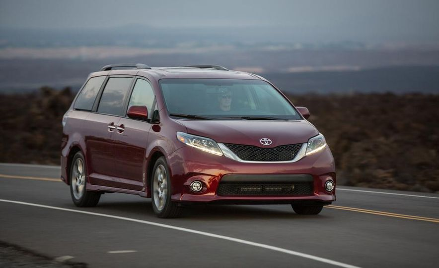 2015 Toyota Sienna Limited - Slide 56