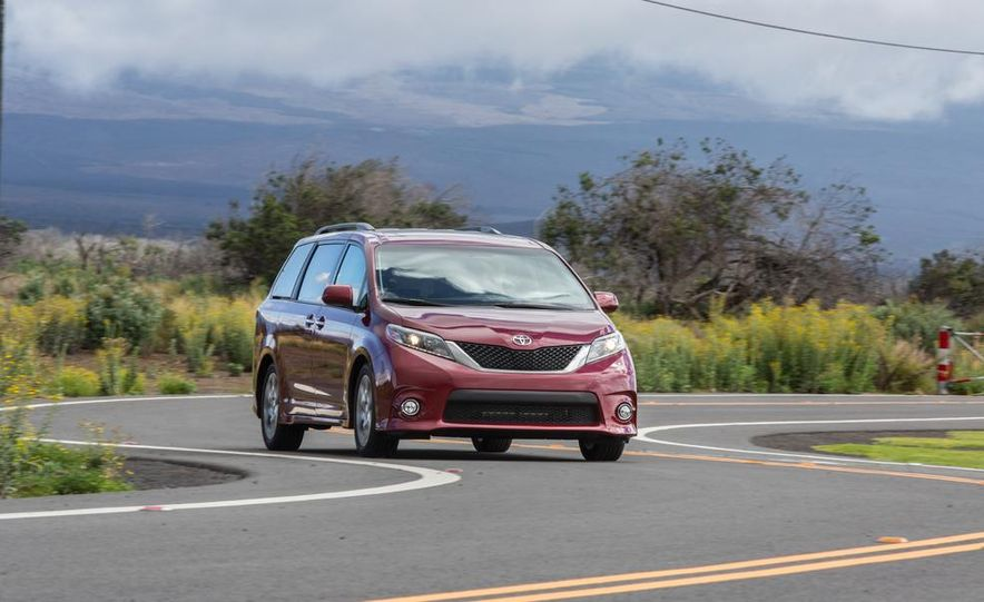 2015 Toyota Sienna Limited - Slide 57