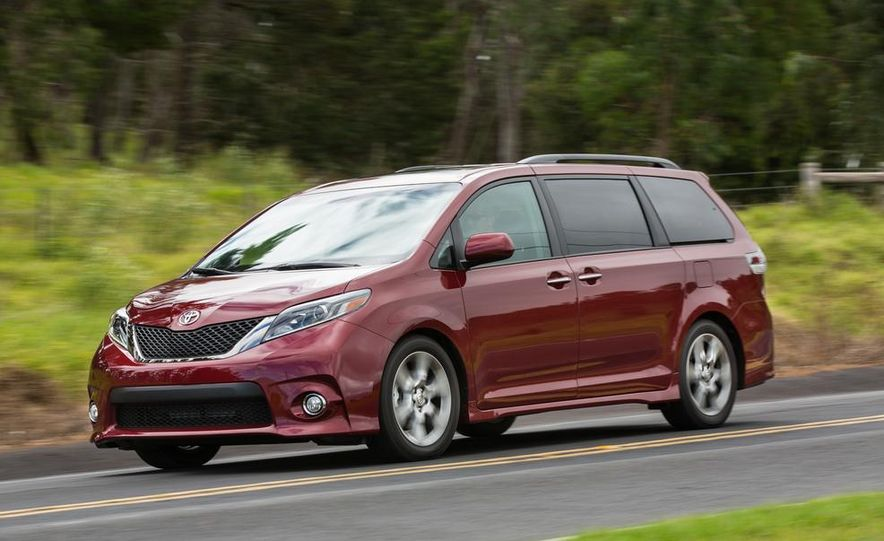2015 Toyota Sienna Limited - Slide 59