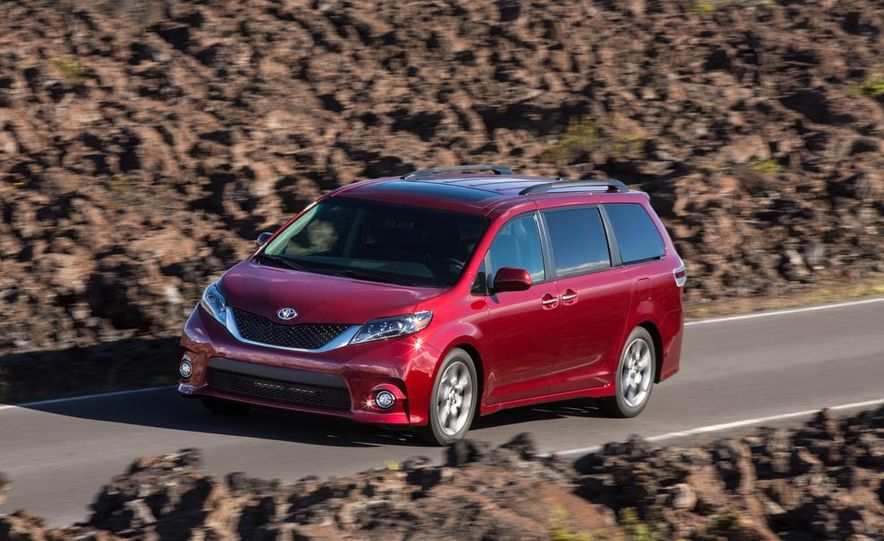 2015 Toyota Sienna Limited - Slide 63