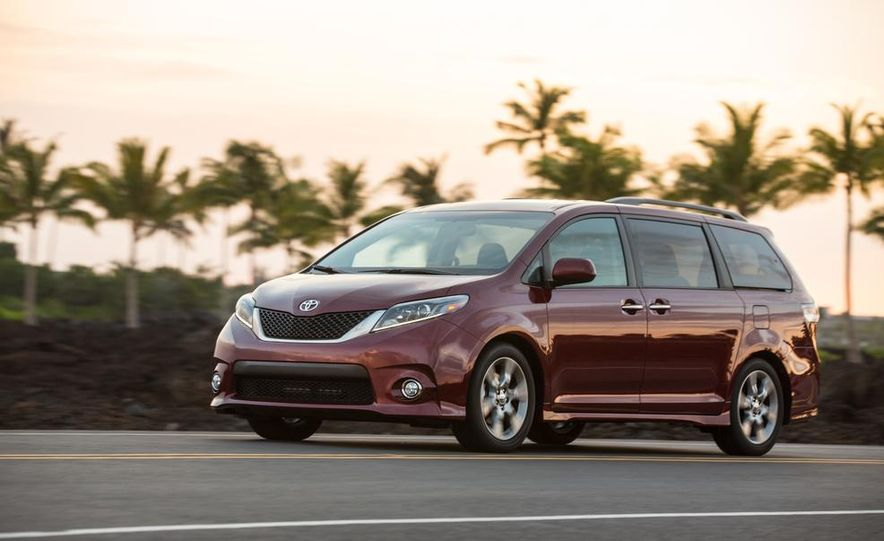 2015 Toyota Sienna Limited - Slide 64