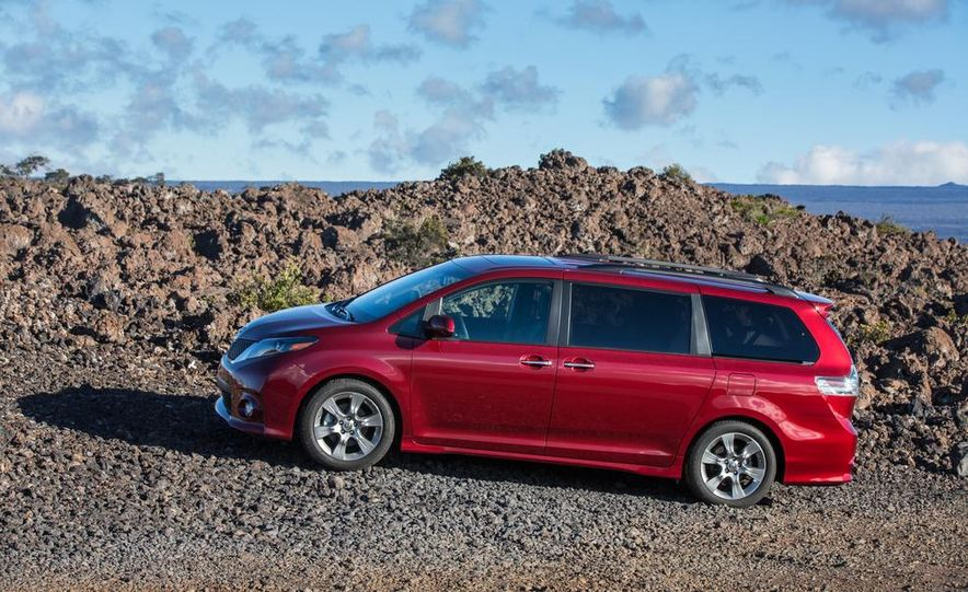 2015 Toyota Sienna Limited - Slide 67