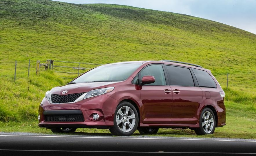 2015 Toyota Sienna Limited - Slide 68