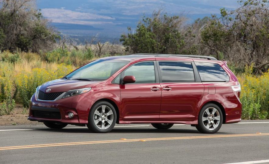 2015 Toyota Sienna Limited - Slide 69