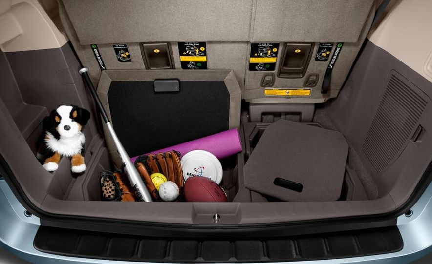 2015 Toyota Sienna Limited - Slide 52