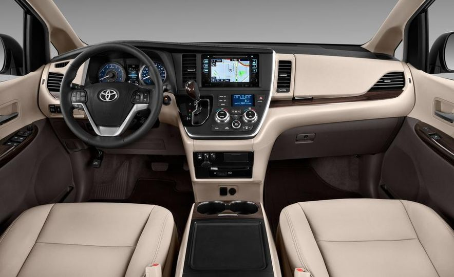 2015 Toyota Sienna Limited - Slide 43