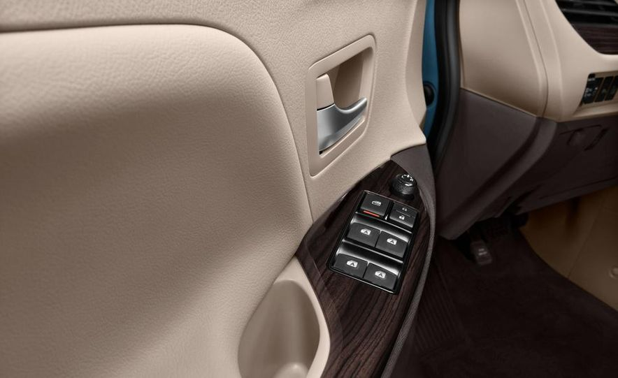 2015 Toyota Sienna Limited - Slide 46