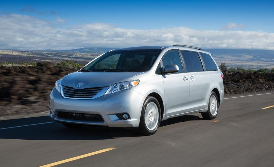 2015 Toyota Sienna Limited - Slide 41