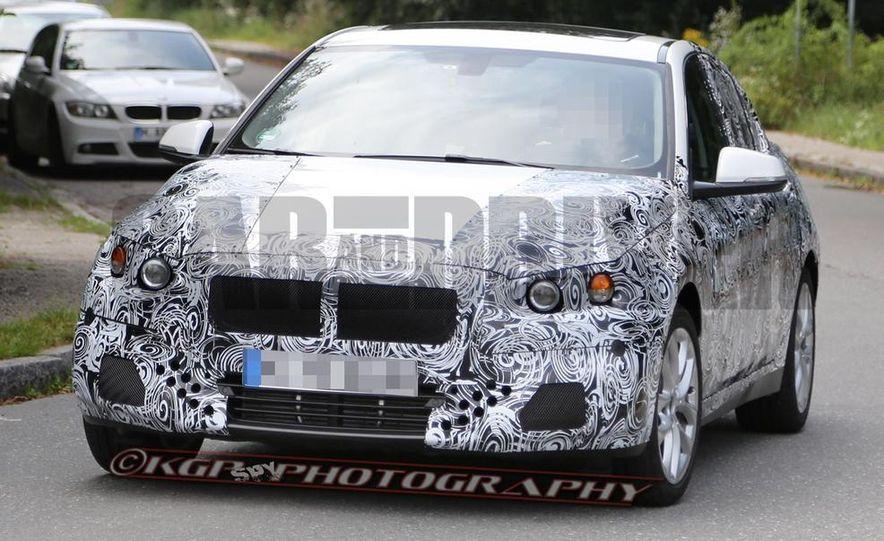 2016 BMW 1-series (spy photo) - Slide 1