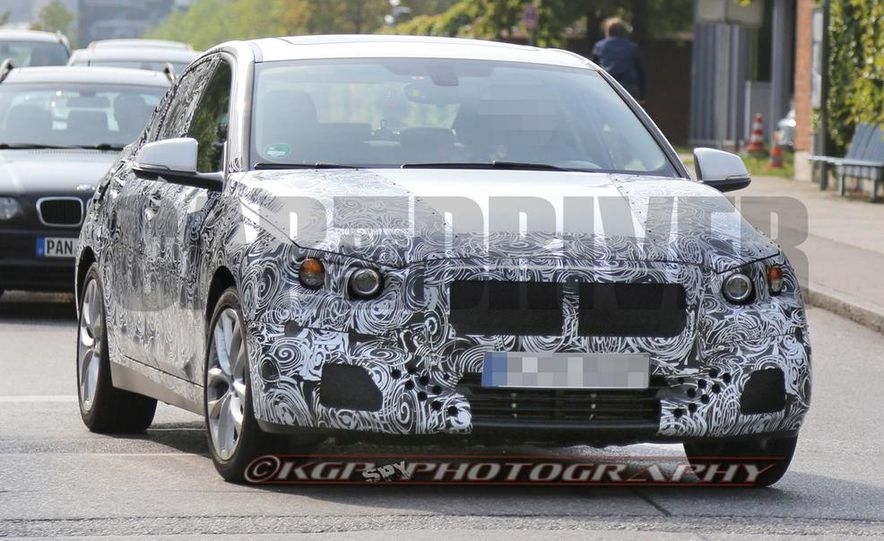 2016 BMW 1-series (spy photo) - Slide 8