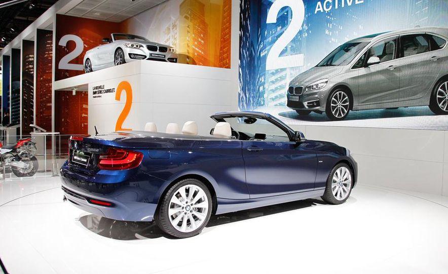 2015 BMW 220d convertible - Slide 9