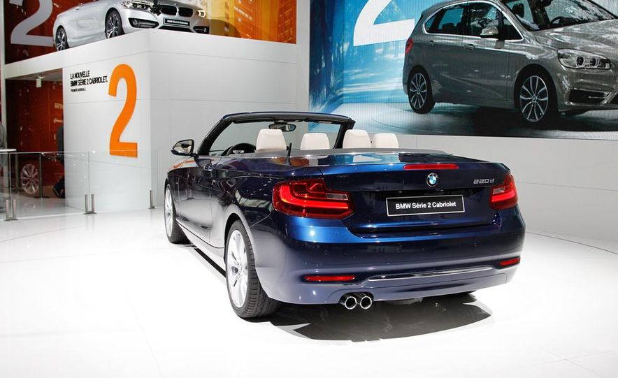 2015 BMW 220d convertible - Slide 13
