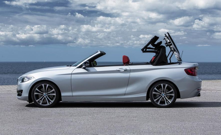 2015 BMW 220d convertible - Slide 61
