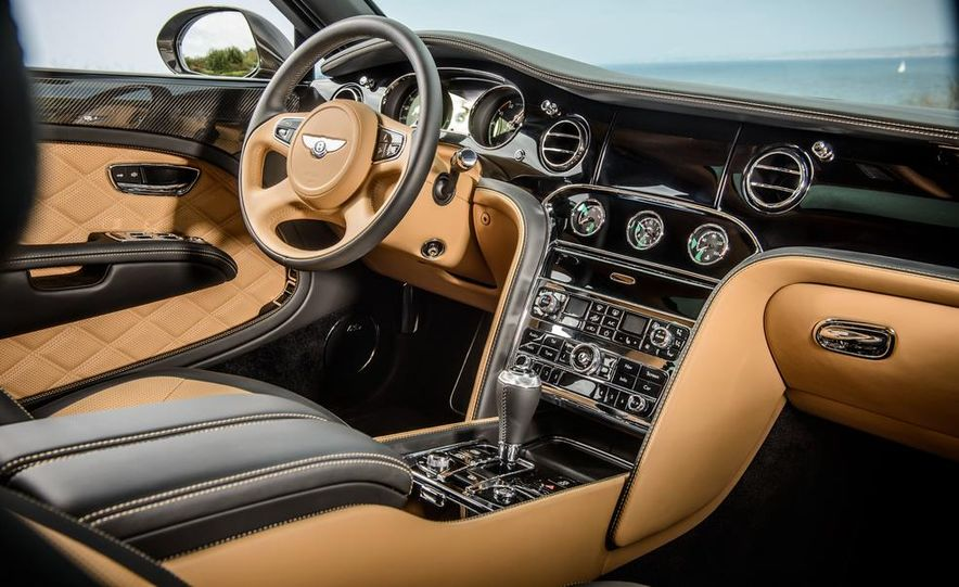 2015 Bentley Mulsanne Speed - Slide 10