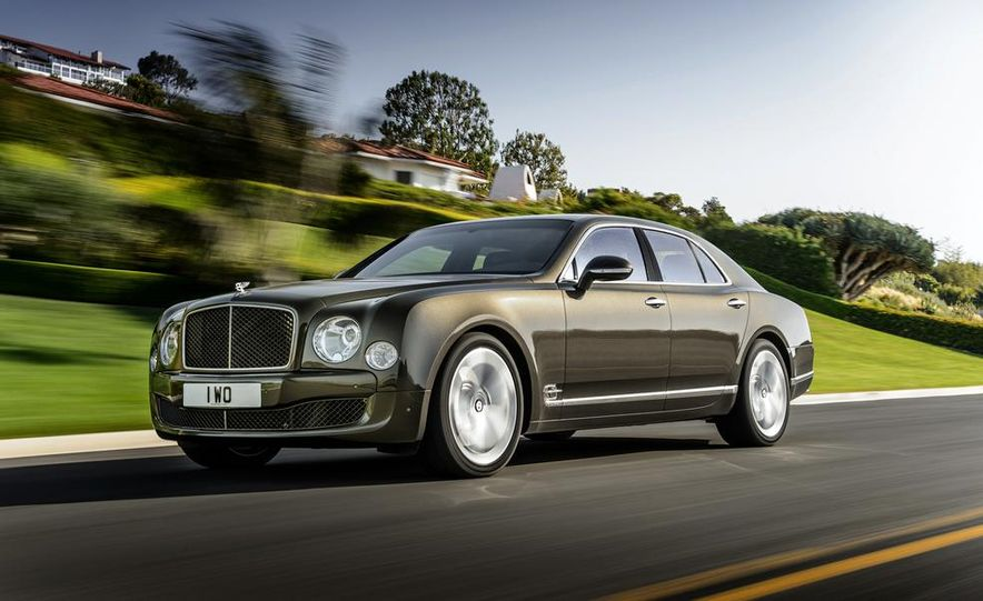 2015 Bentley Mulsanne Speed - Slide 2